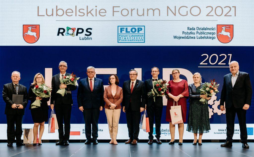 """Nagrody ZS FLOP """"Złoty Parasol NGO"""""""