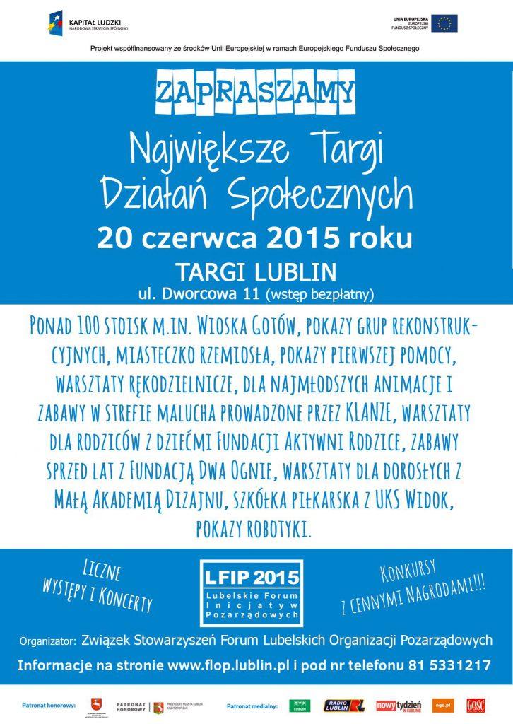 Lubelskie Forum Inicjatyw Pozarządowych 2015